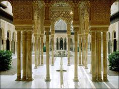 Weltkulturerbe Nasridenpalast in Granada